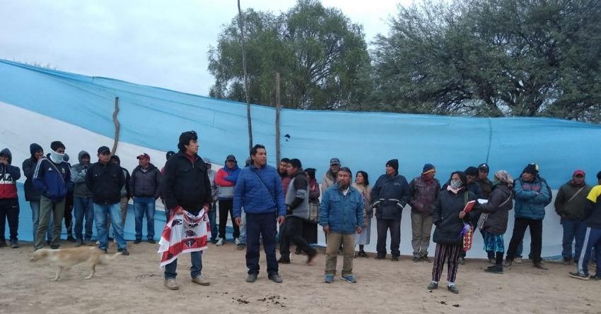 Rebelión de pueblos originarios: Hoy marchan a Salta para reunirse con Sáenz.