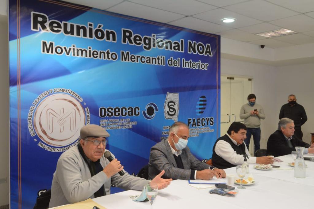 Plenario Mercantil del NOA resolvió brindar su apoyo a los candidatos del FdTodos.