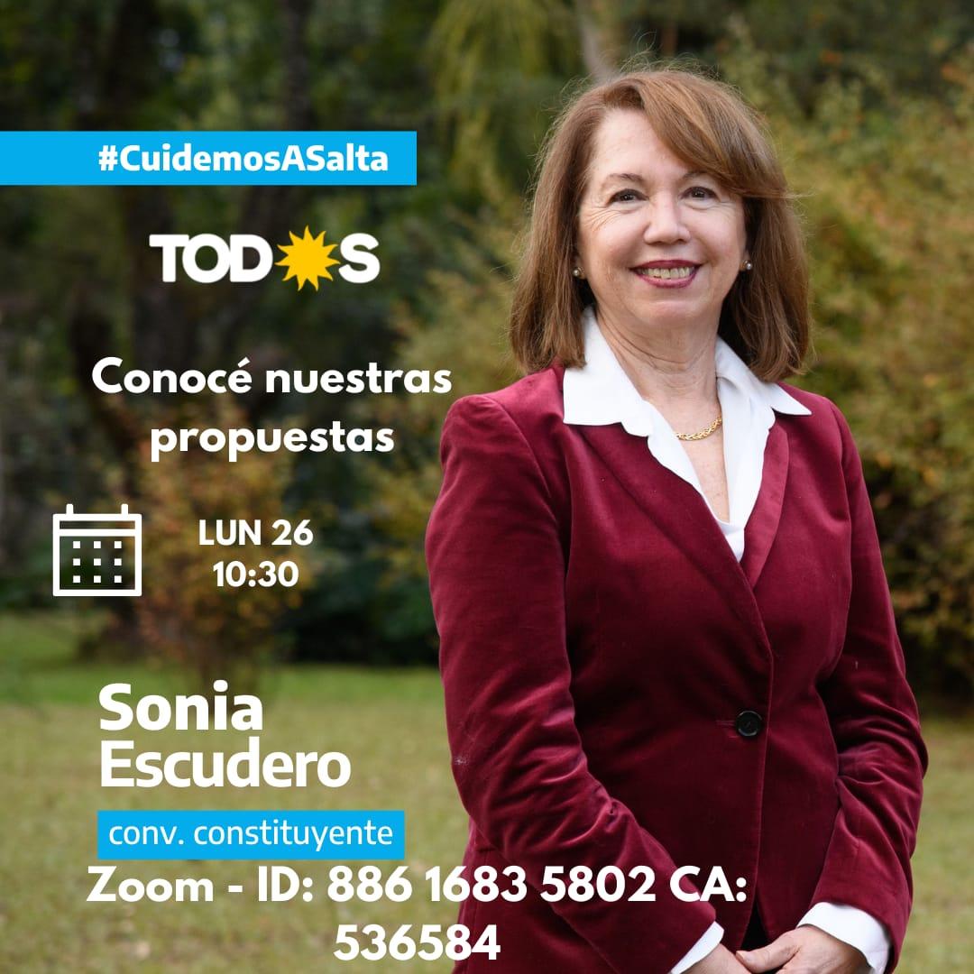 Sonia Escudero: El empresario Huergo habría cobrado $ 543 millones por obras licitadas de Municipalidad de Salta.