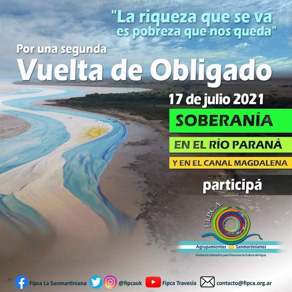 Las PyMES en Vuelta de Obligado reafirmaron su adhesión al gobierno nacional.