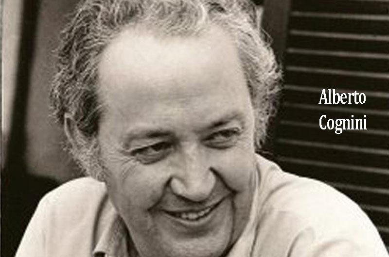Homenaje al fundador de Revista Hortensia: Alberto Cognigni