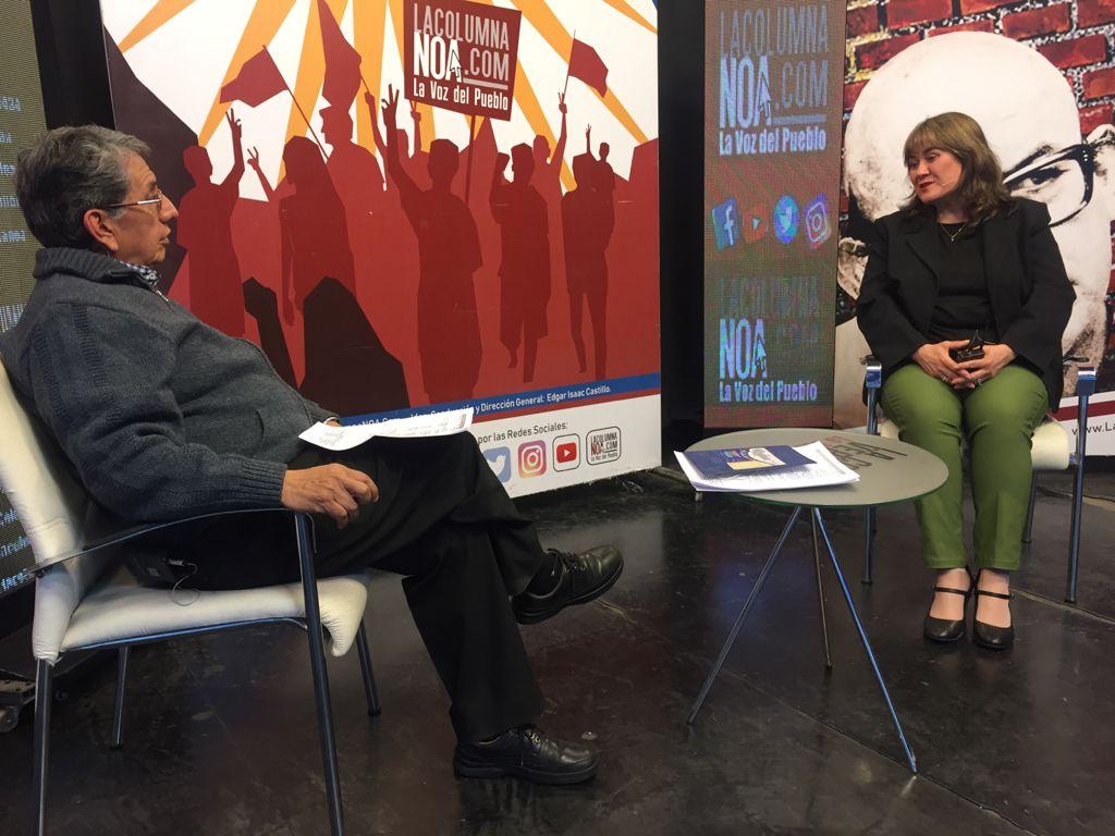 """Patricia Pomares (SI): """"La gente se cansó, por ejemplo, de Durand Cornejo que desde el 2003 ocupa cargos públicos""""."""